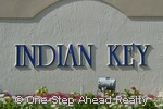 sign for Indian Key