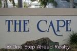 sign for The Cape