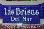 sign for Las Brisas Del Mar
